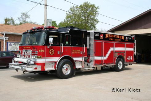 Beecher FPD Engine Co 404 2012 Pierce Arrow XT PUC 1500/1000