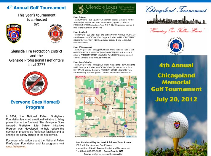 Glenside FPD Charity Golf Outing for the National Fallen Firefighters Foundation