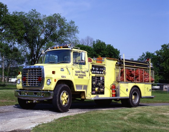 Bonnie Brook Fire Protection District tanker