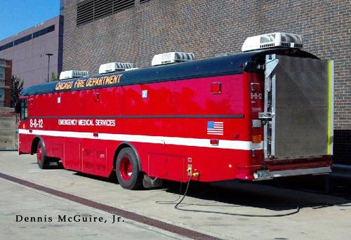 Chicago Mobile Ambulance Bus 8-8-12