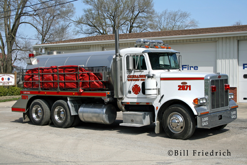 Chebanse Township Fire Protection District tanker