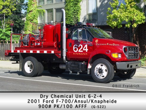 Chicago Fire Department Dry Chemical Unit 624
