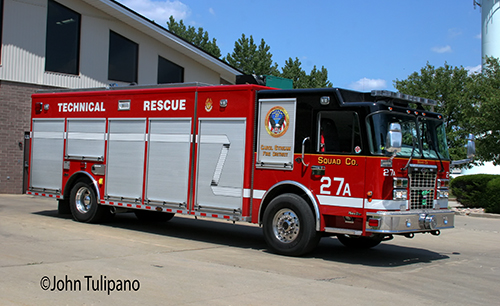 Carol Stream Fire District Squad 27A