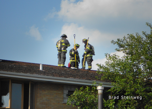 Calument City apartment fire 8-25-12