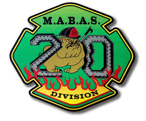 MABAS Division 20 decal