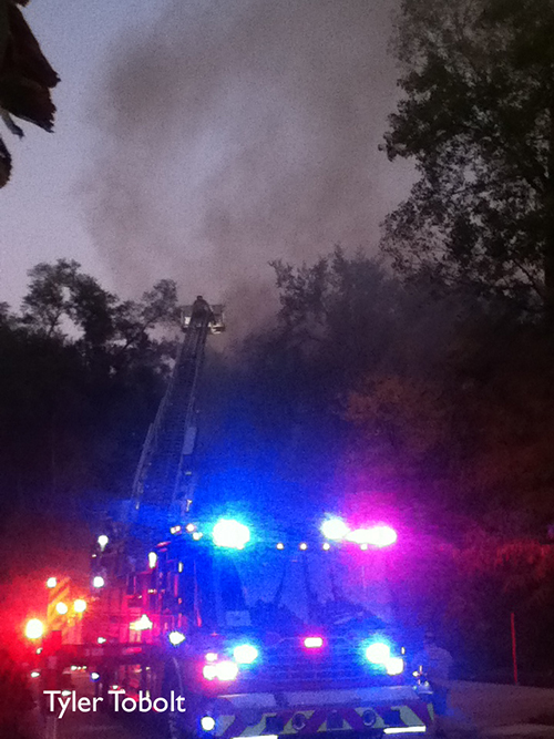 Algonquin house fire 9-29-12