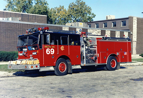 Chicago Fire Department Engine 69
