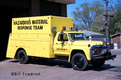Cicero Fire Department 1976 Haz mat unit