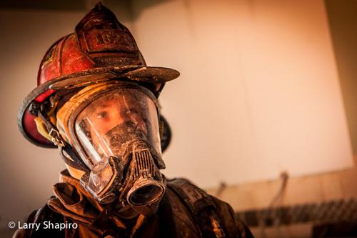 Woodstock Fire Rescue District training fire
