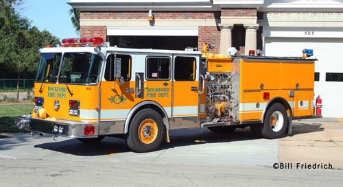Rockford Fire Department Engine 15