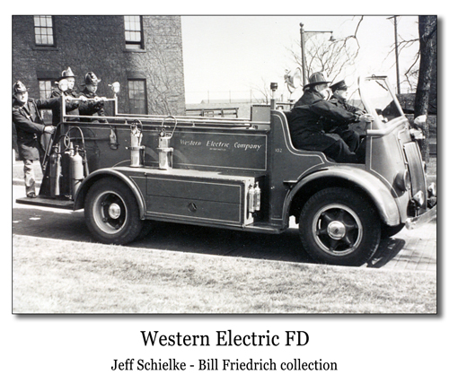 Western Electric Fire Department Cicero, IL