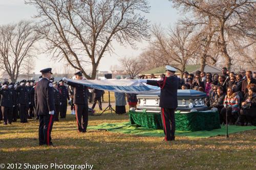 Funeral for Chicago Fire LODD Firefighter Walter Patmon Jr 11-22-12
