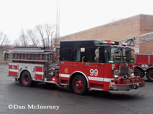 Chicago fire department engine