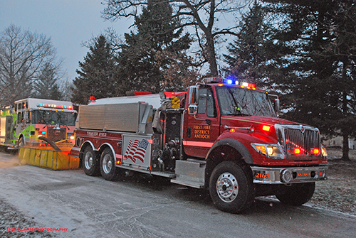 Antioch fire engine tanker