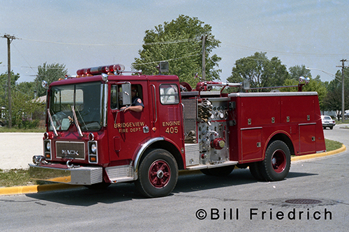 Bridgeview FD Mack MC engine
