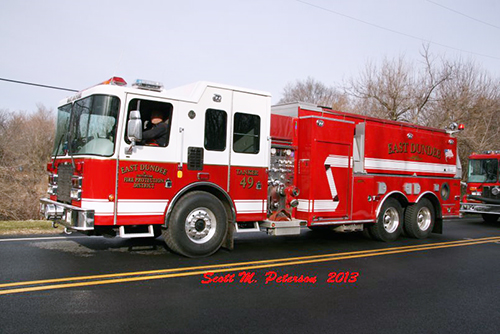 East Dundee FPD water tanker HME