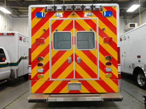 Palatine FD ambulance