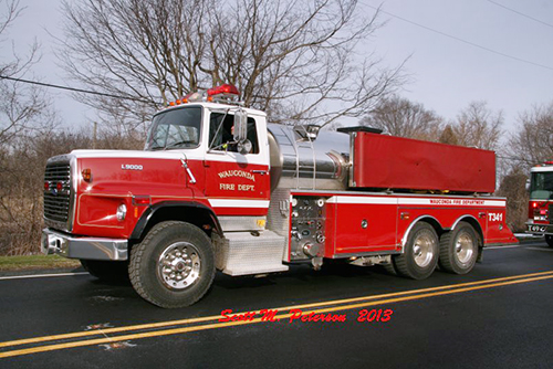 Wauconda Fire District water tanker