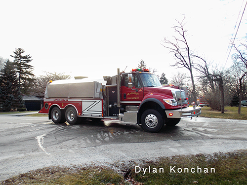 Frankfort Fire District tanker