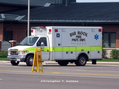 Big Rock FPD ambulance