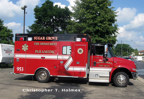 Sugar Grove FPD apparatus