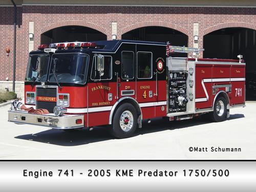 Frankfort FPD Engine 741