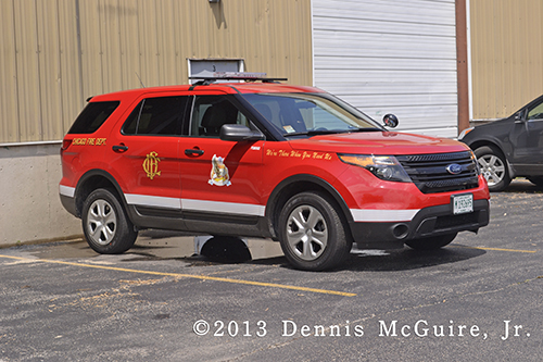 Chicago Fire Department Ford Explorer