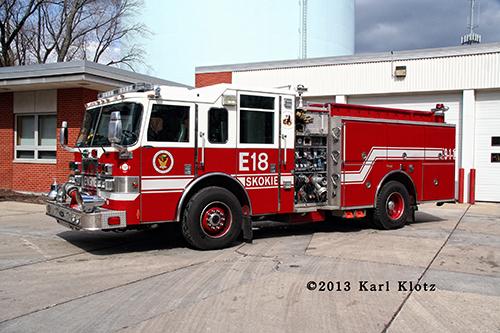 Skokie Fire Department Engine 18