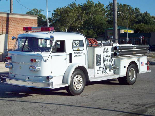 1964 American Lafrance Fire Engine For Sale
