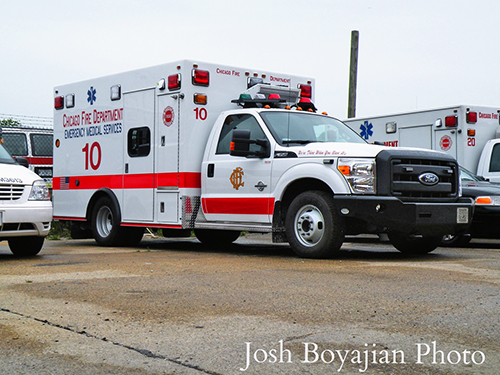 new Chicago Fire Department ambulance