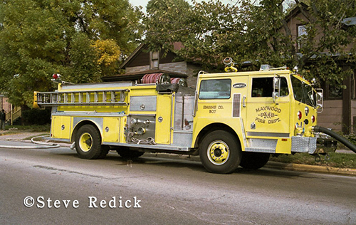Maywood fire department history