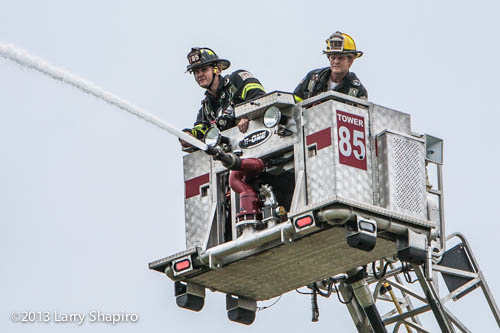 Palatine Fire Department tower ladder