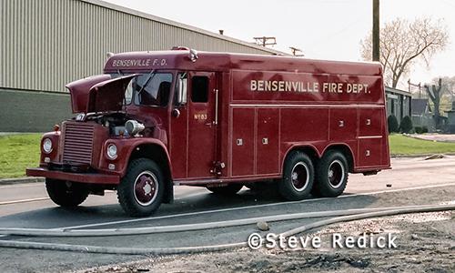 Bensenville squad. Steve Redick photo