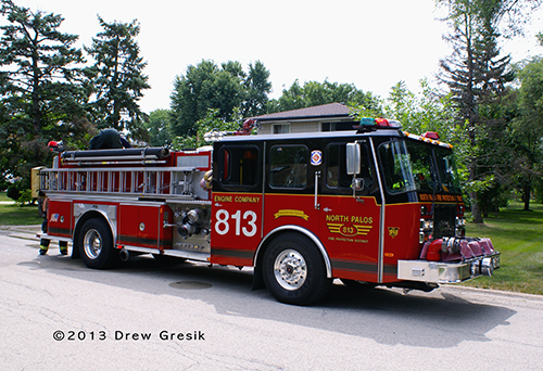 North Palos Fire Protection District fire engine