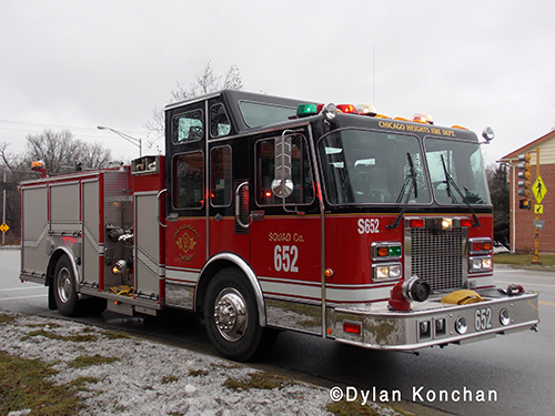 Tinley Park Fire engine