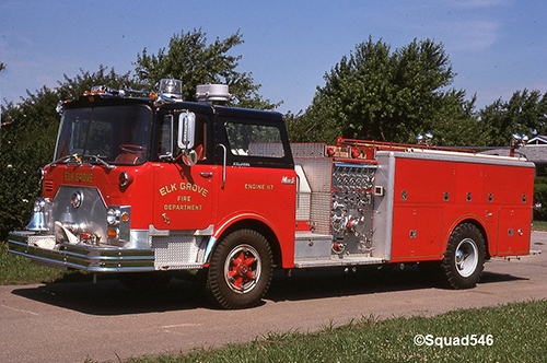 Elk Grove Village Fire Department history