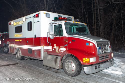 Antioch FD ambulance