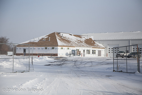 fire station being built