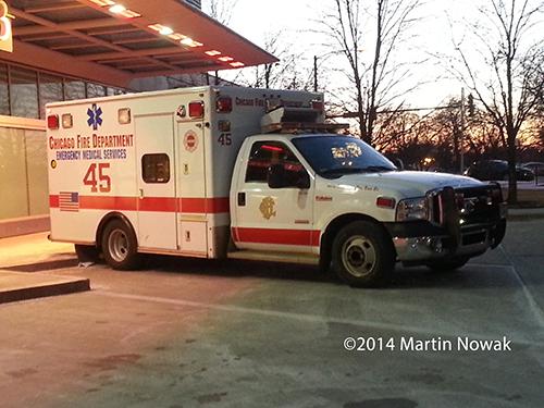 old Chicago FD ambulance