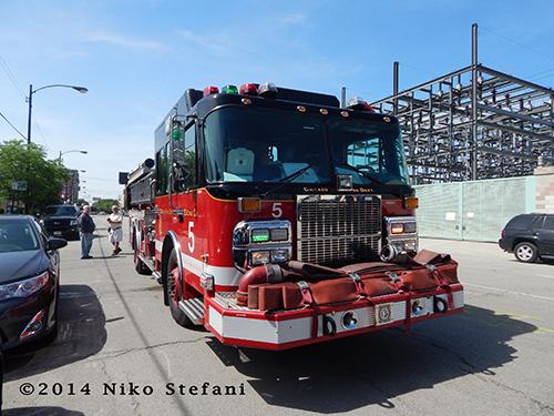 Chicago FD Engine 5 Spartan