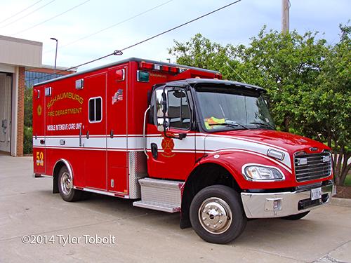 Freightliner ambulance