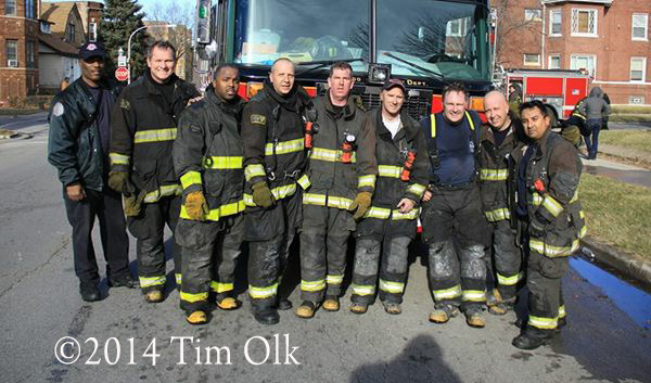 firemen after fighting a fire
