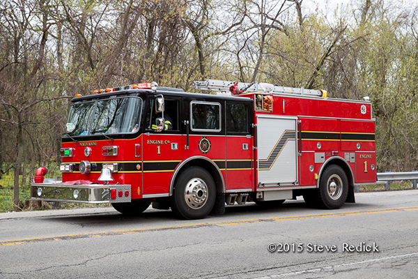 North Maine FPD fire engine