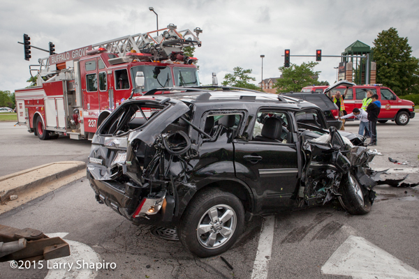 Ford Escape wrecked in crash