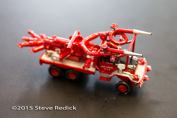 scratch built fire truck model CFD Big John