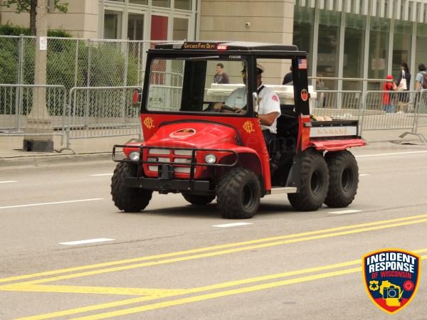 Chicago FD special events ATV