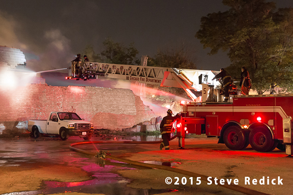 Chicago 2-11 Alarm fire at 33rd & Shield