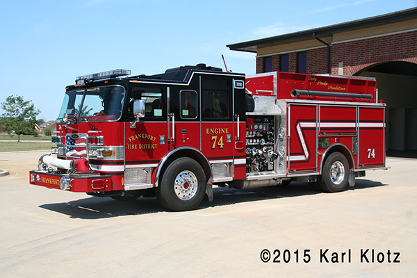 Frankfort FPD Engine 74
