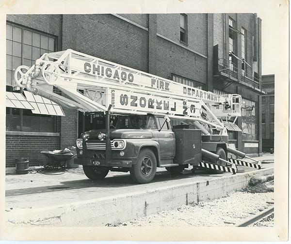historic Chicago FD Hi-Ranger Snorkel
