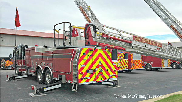 E-ONE Quest tower ladder demo unit